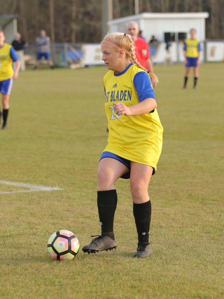 East Columbus vs East Bladen girls soccer 12