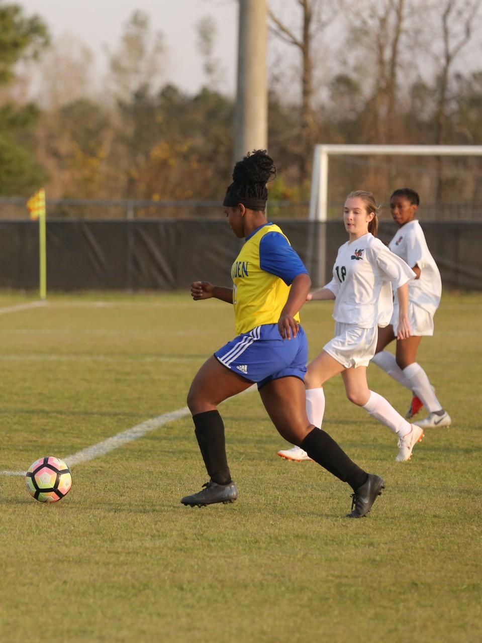 East Columbus vs East Bladen girls soccer 13