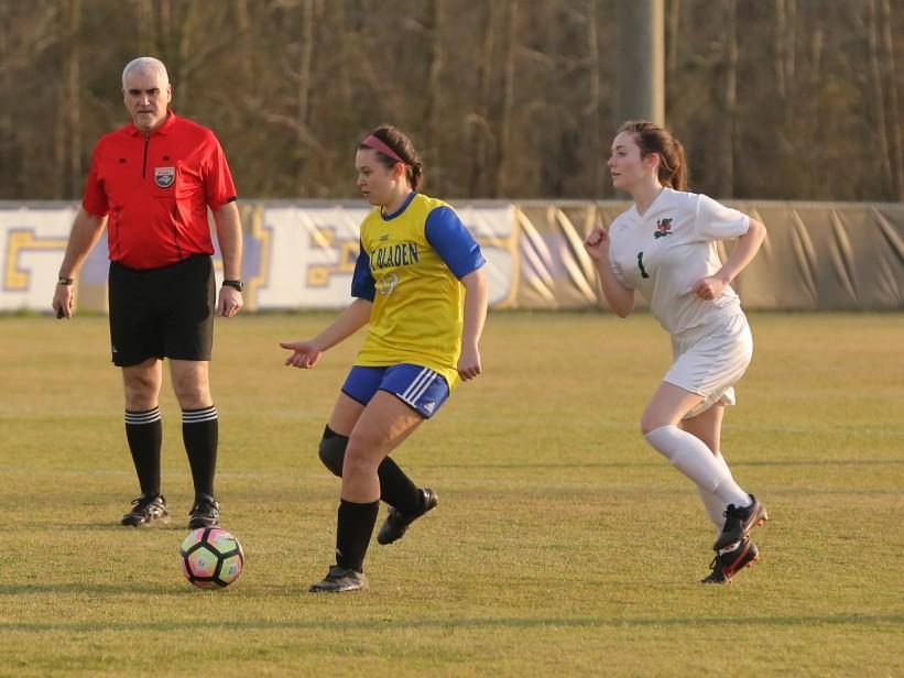 East Columbus vs East Bladen girls soccer 14