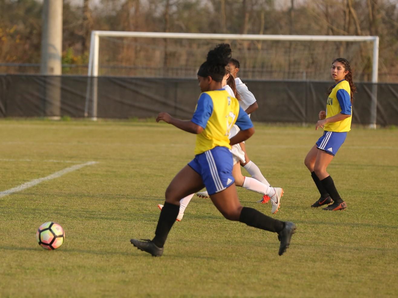 East Columbus vs East Bladen girls soccer 15