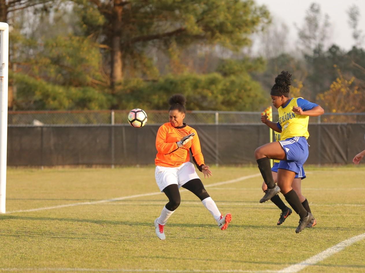 East Columbus vs East Bladen girls soccer 16