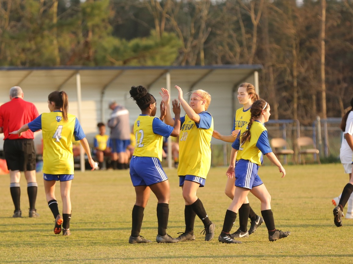 East Columbus vs East Bladen girls soccer 17