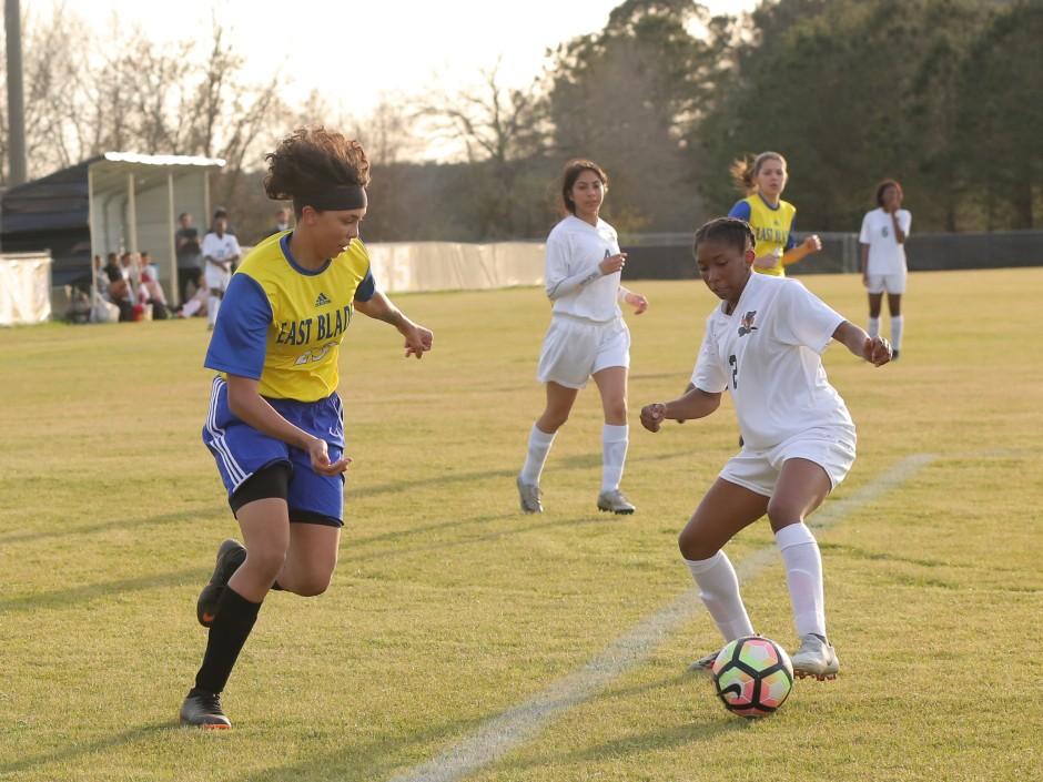 East Columbus vs East Bladen girls soccer 2