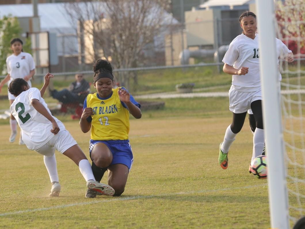 East Columbus vs East Bladen girls soccer 3