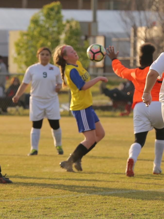 East Columbus vs East Bladen girls soccer 5