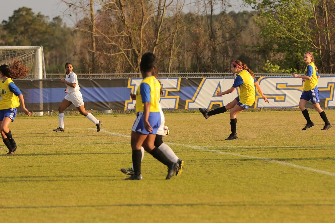 East Columbus vs East Bladen girls soccer 6