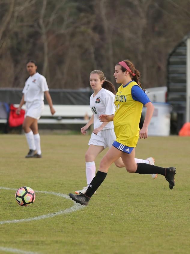 East Columbus vs East Bladen girls soccer 7
