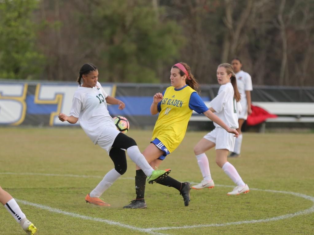 East Columbus vs East Bladen girls soccer 8