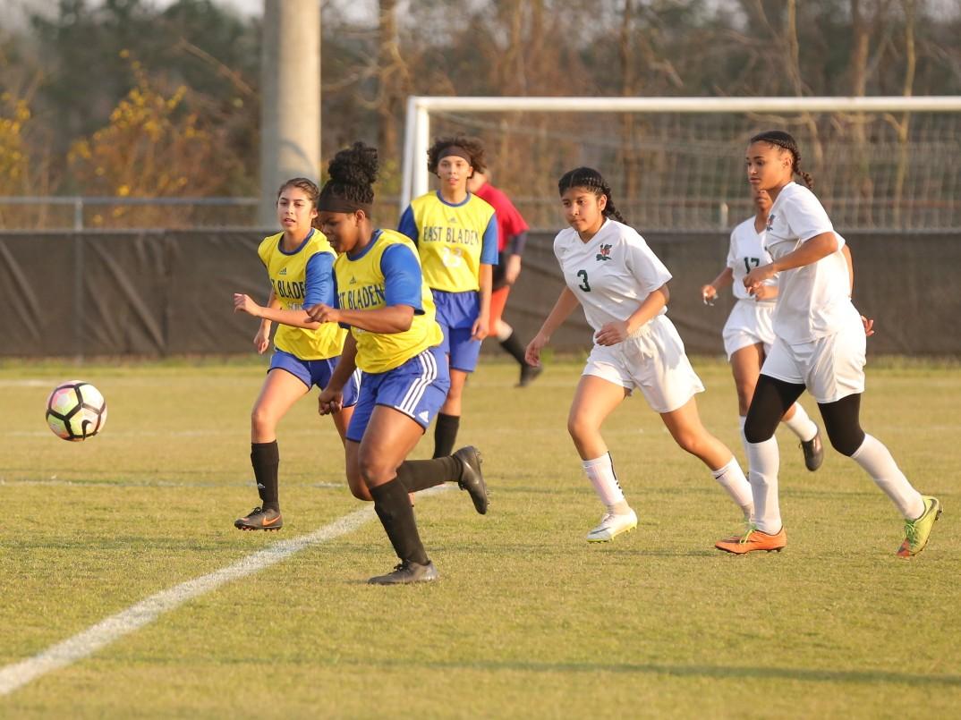 East Columbus vs East Bladen girls soccer 9