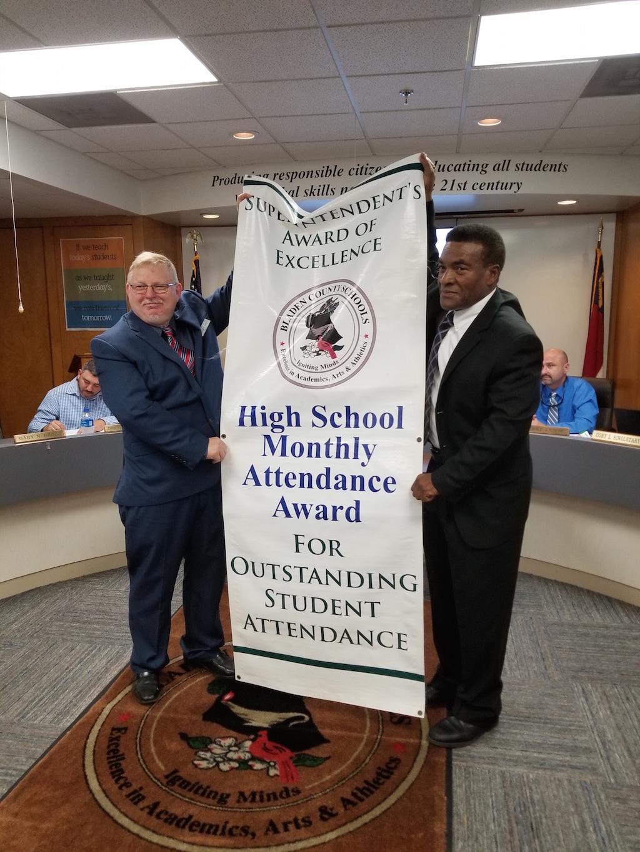 April 2019 High School Attendance Banner