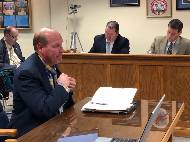 Bladen County Commissioners Lou Nelon