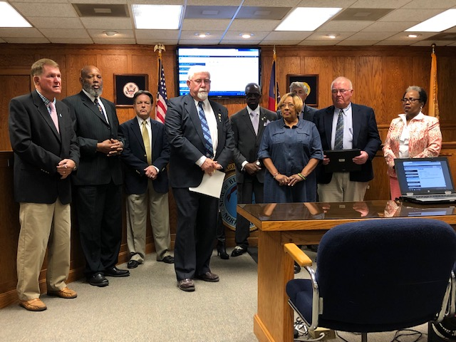 Commissioners Sexual Assault Awareness Proclamation