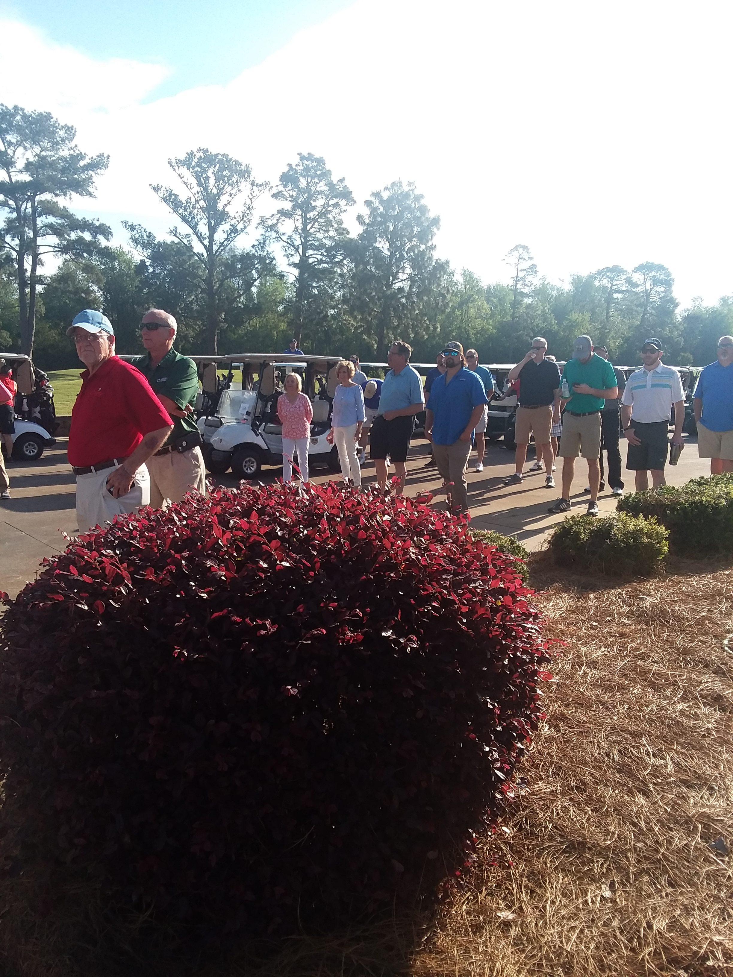 Golfers Tee off for Bladen We Care 1