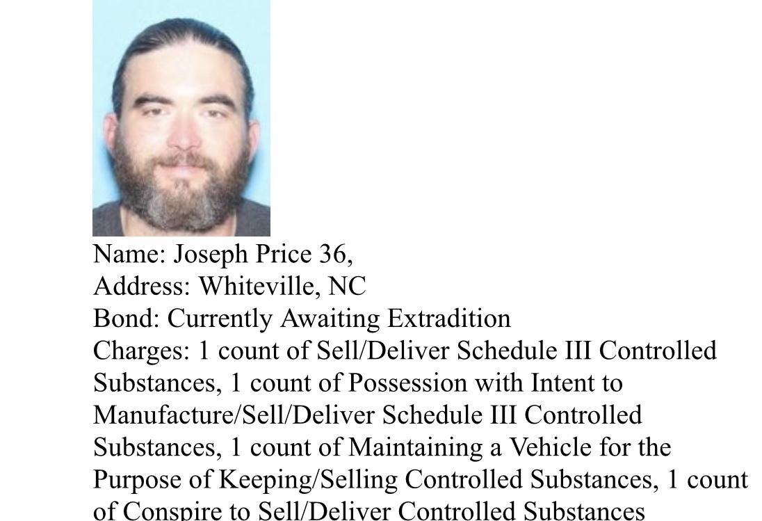 Joseph Price arrest