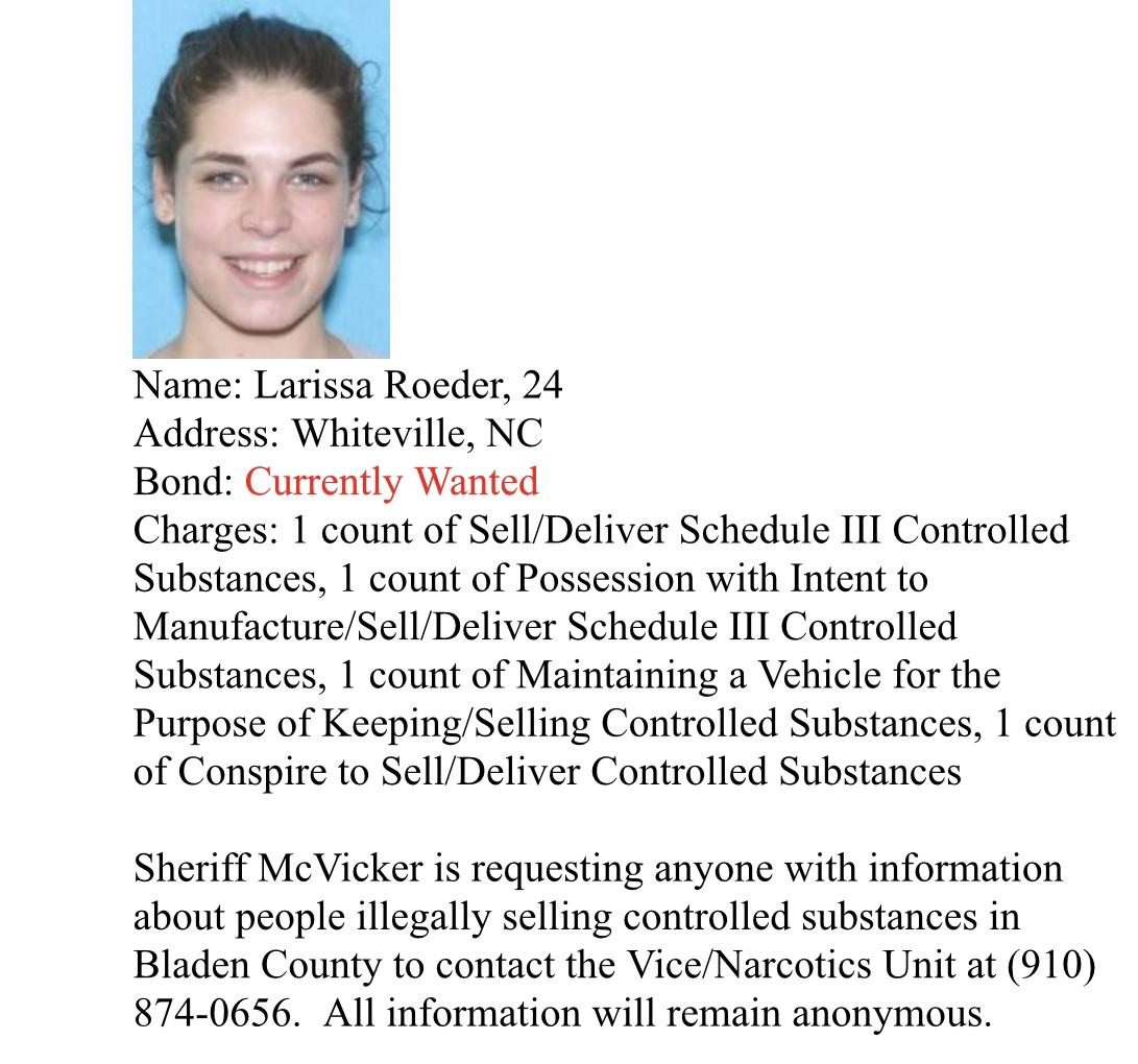 Larissa Roeder arrest
