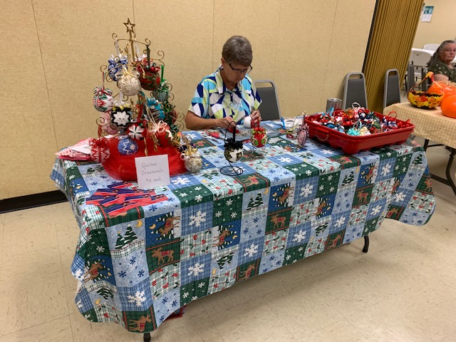 Update: Christmas in July Bazaar and Lunch happening now