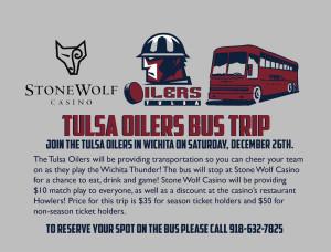 Bus Trip Wichita-Dec 26