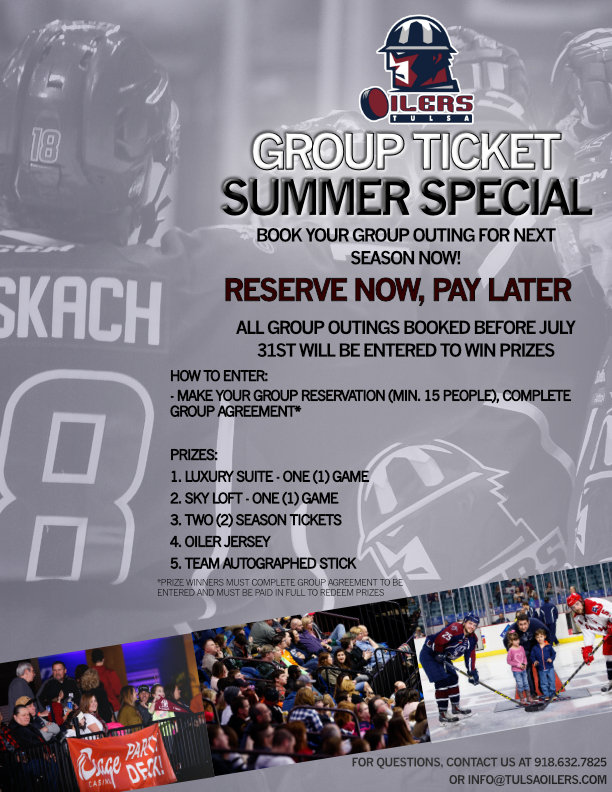 Group Ticket Summer Special