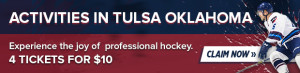 SEO Banners - Activities in Tulsa Oklahoma - Tulsa Oilers