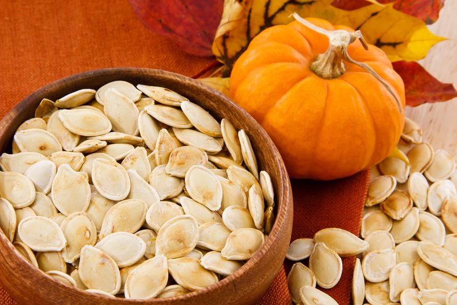 Pumpkin Seeds Make You Feel Good! {Roasted Pumpkin Seed Recipe}