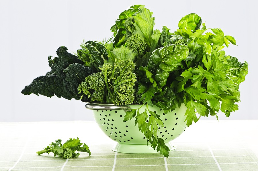 Eat Right: The Eating O' the Green!