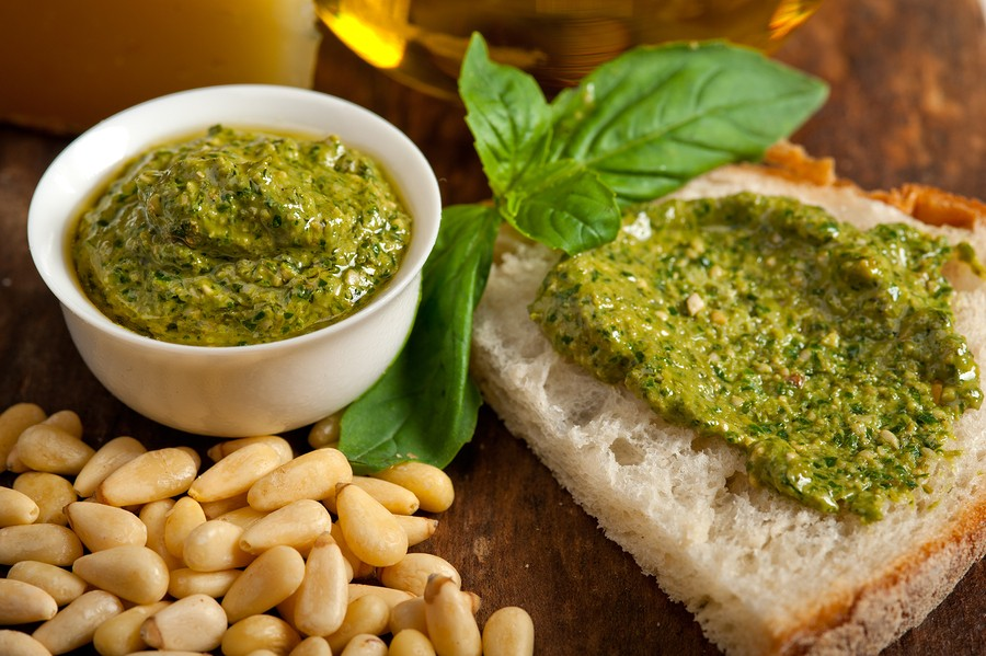A Basil Appraisal: Fresh Basil Pesto Recipe  {Basil recipes   recipes with basil   sweet basil recipes}