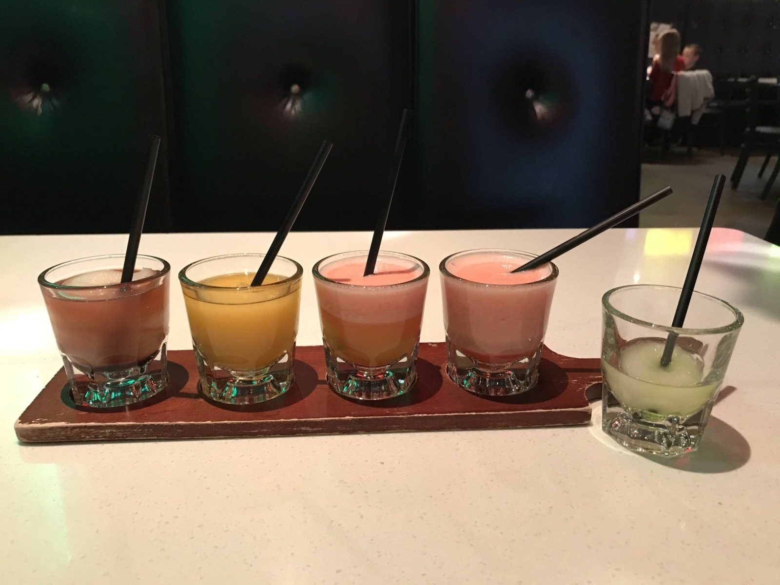 Rio Mambo Margarita Flight – Best Tex Mex y Mas Restaurant near Fort Worth, Texas