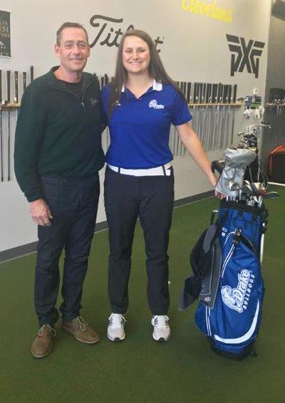 Ken Schall with Erica Olberding