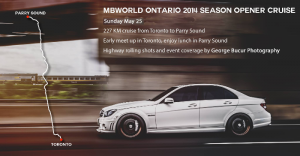 MBWorld Cruise to Parry Sound