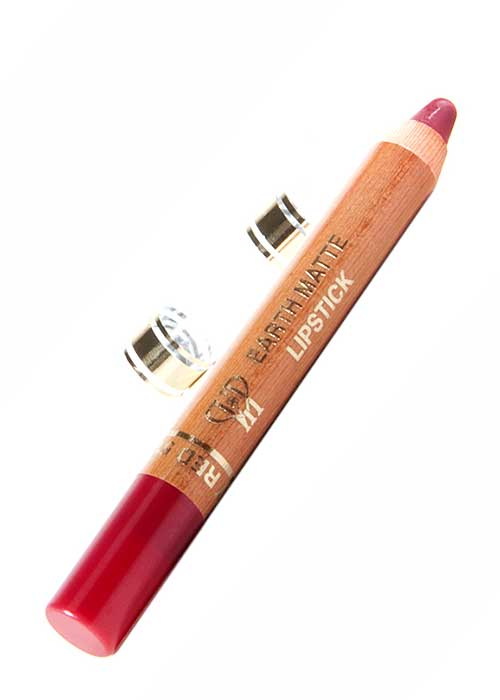 VIP Cosmetics - Lipstick Pencil Earth Matte Raspberry Red L51