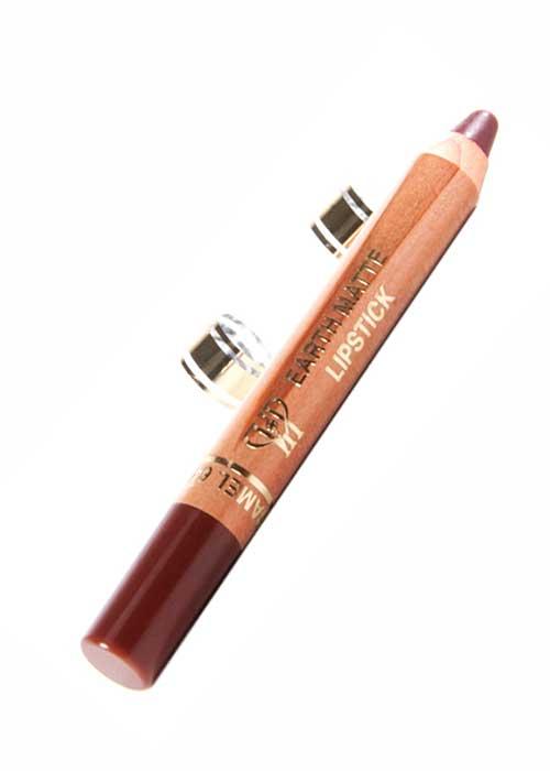VIP Cosmetics - Lipstick Pencil Earth Matte Chocolate Caramel L62