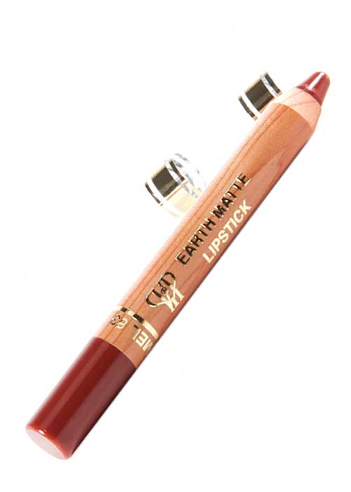 VIP Cosmetics - Lipstick Pencil Earth Matte Foxy Caramel L63