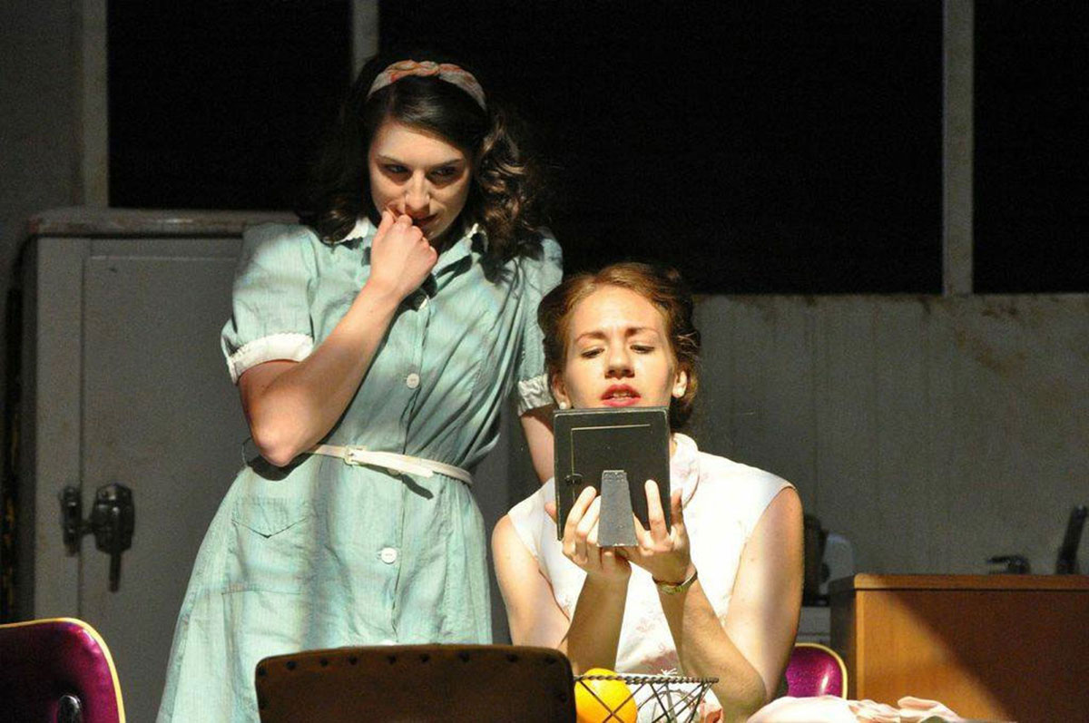 Two actresses performing in A Streetcar Named Desire