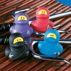 Ninja Rubber Duck, $1.95