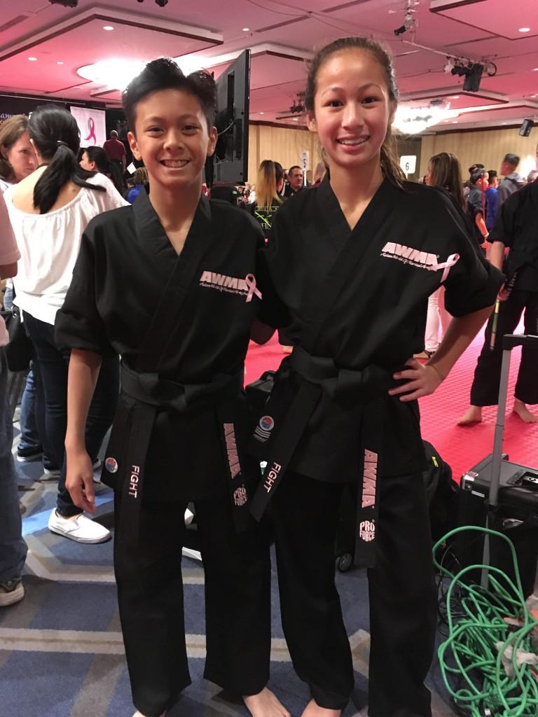 Emma Teo and Kieran Tamondong