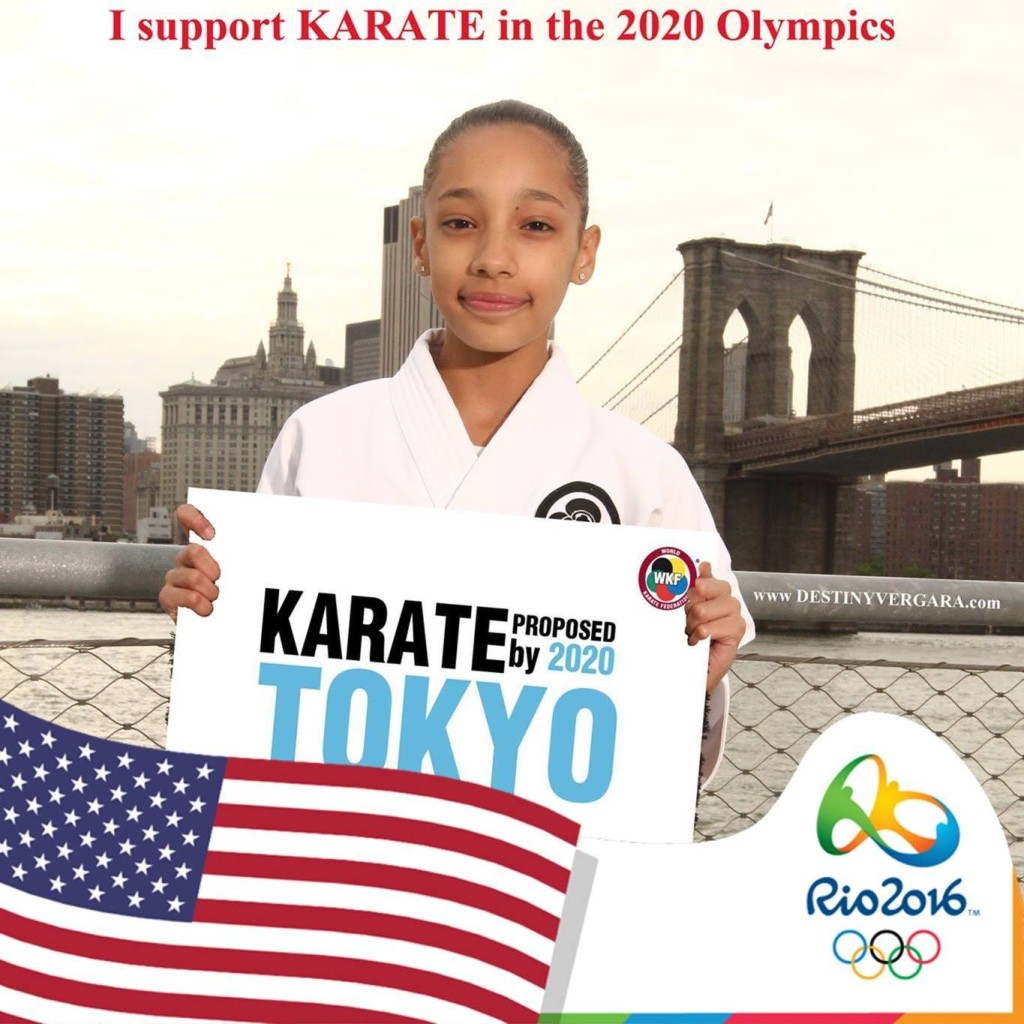 karate in the olympics