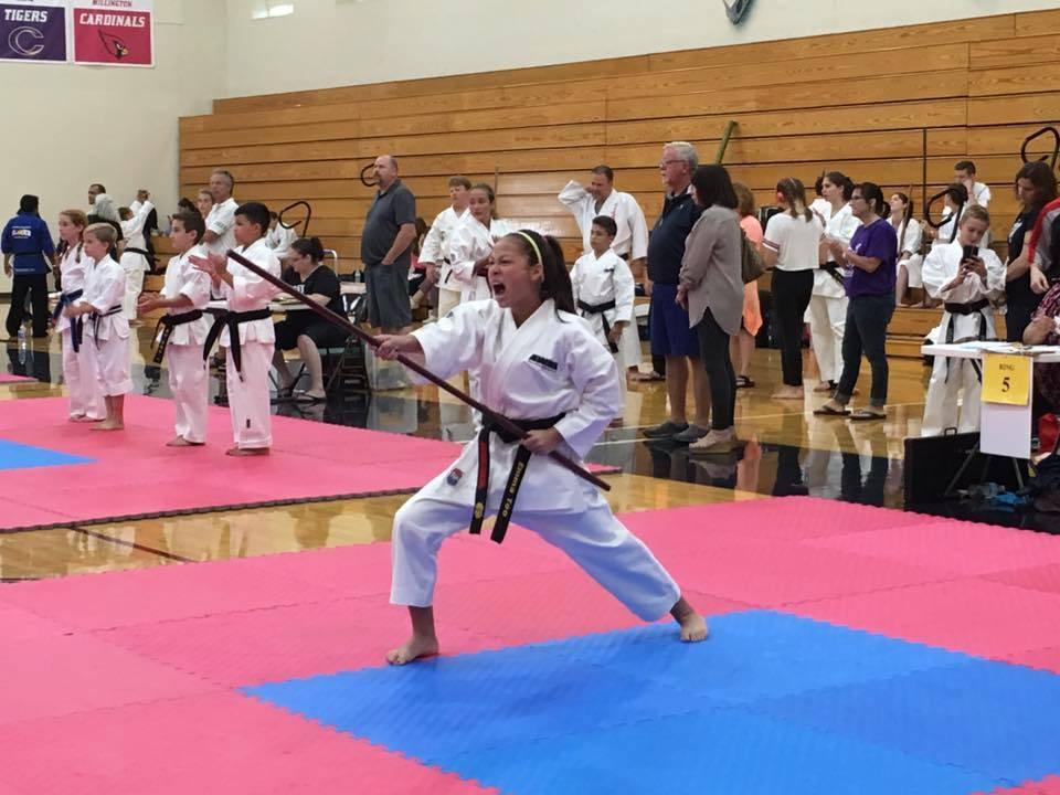 martial arts tournament training