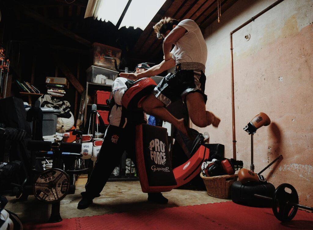 at home martial arts mats