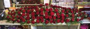 Rose Coffin Sprays