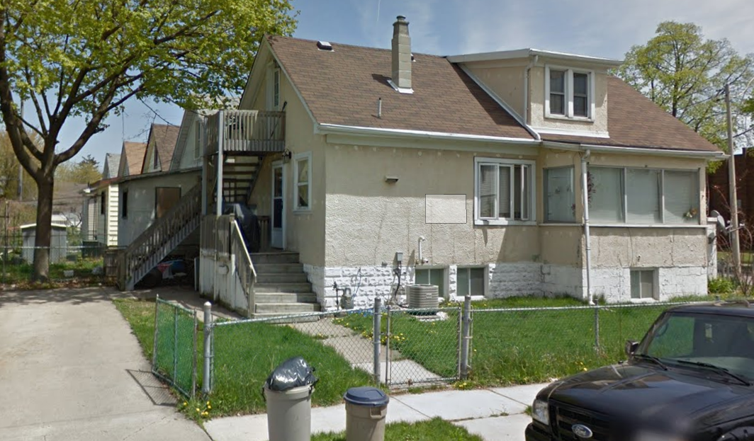 JUST RENOVATED UPPER UNIT WITH BRAND NEW KITCHEN & BATH IN WALKERVILLE