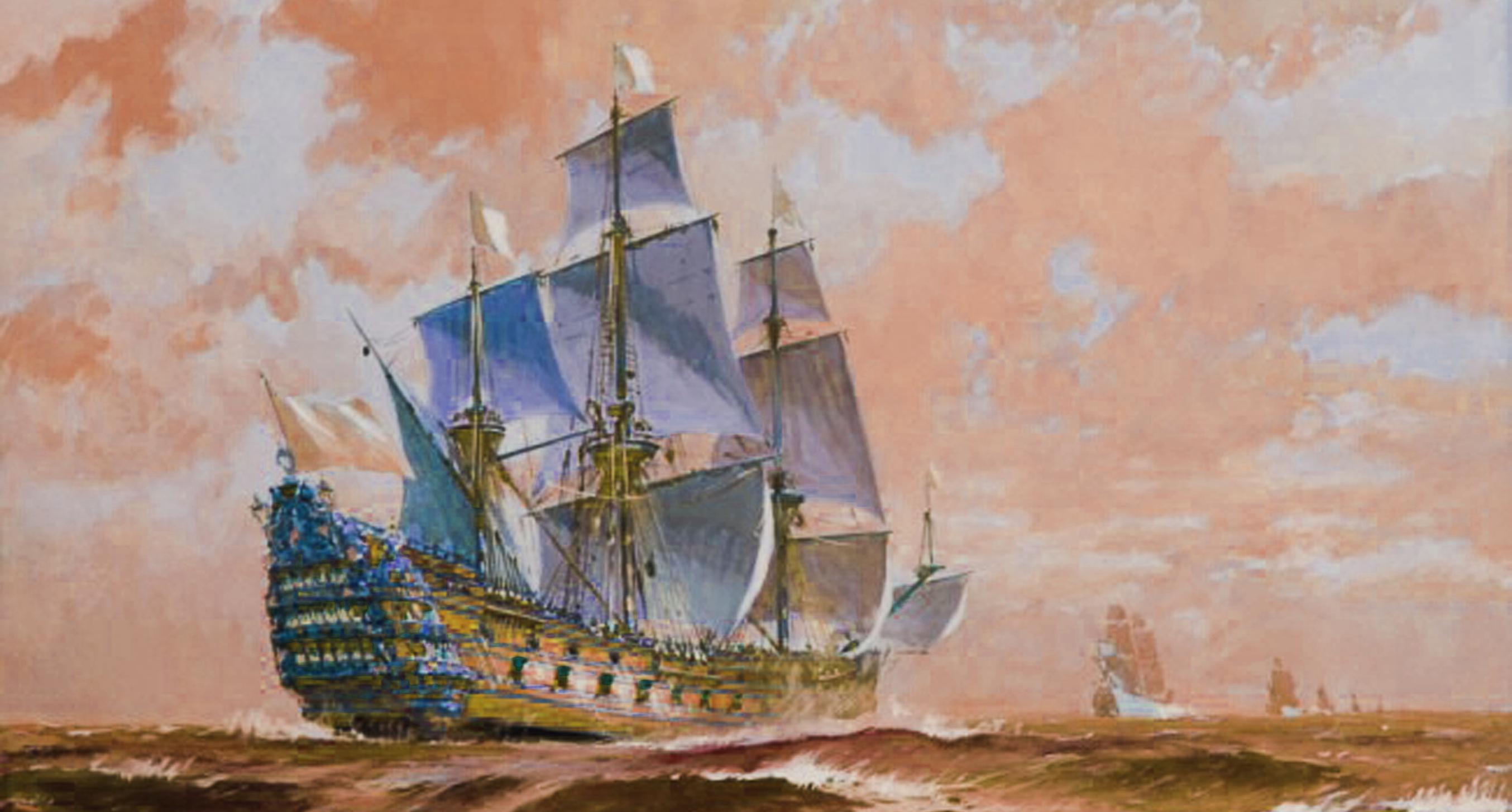 French Invasion Fleet