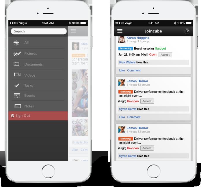 Joincueb app