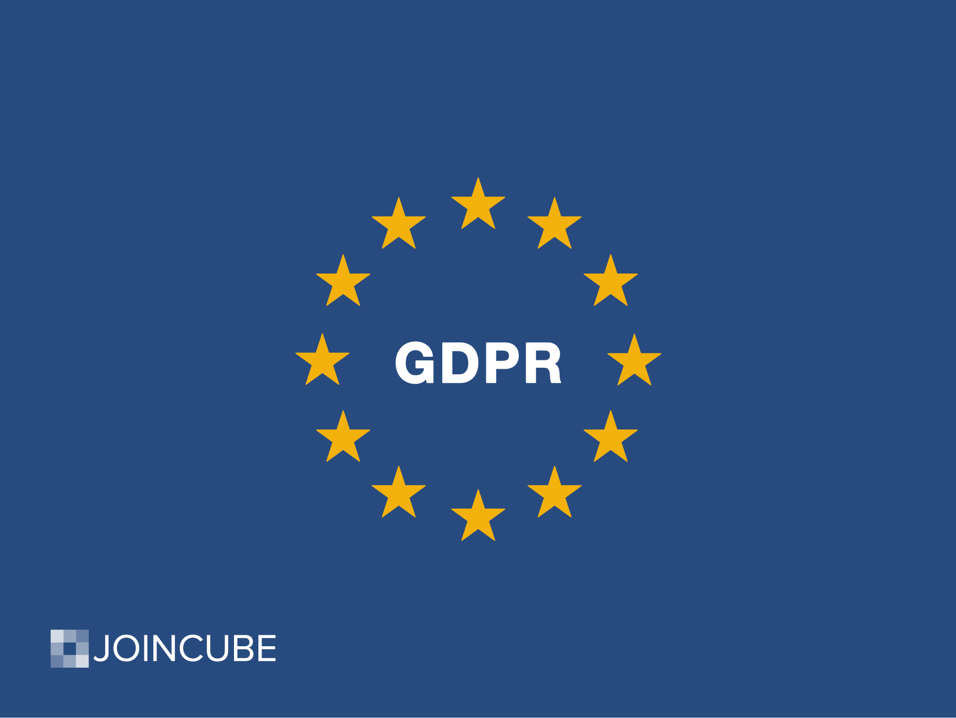 How Joincube is complying with GDPR