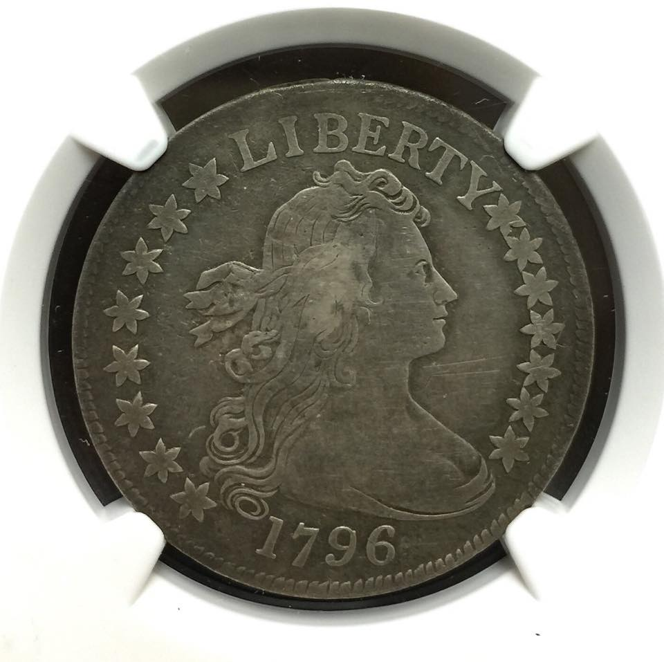 1796 Small Eagle Half Dollar