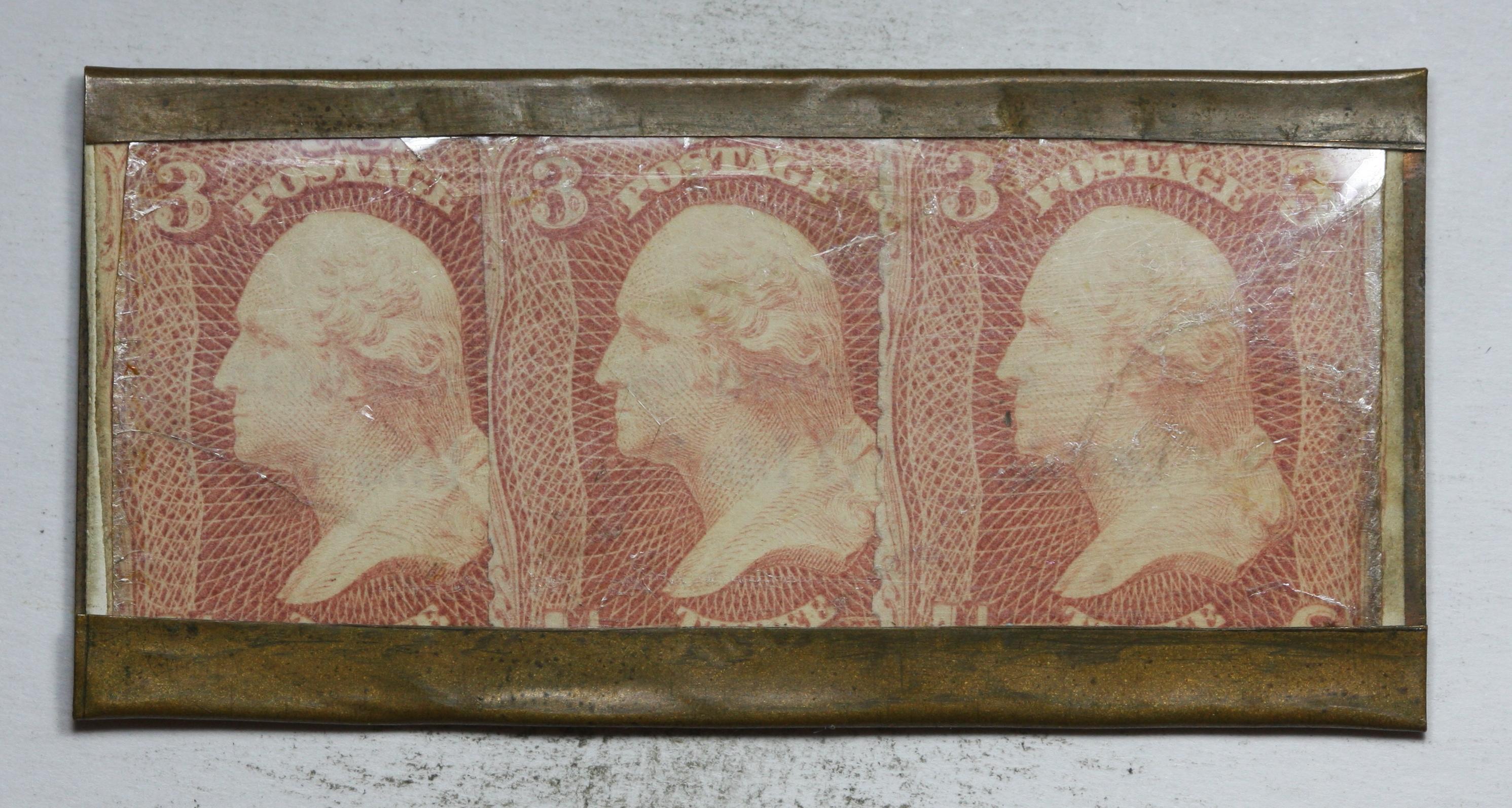 1890's 9 Cent Encased Postage Feuchtwangers Design