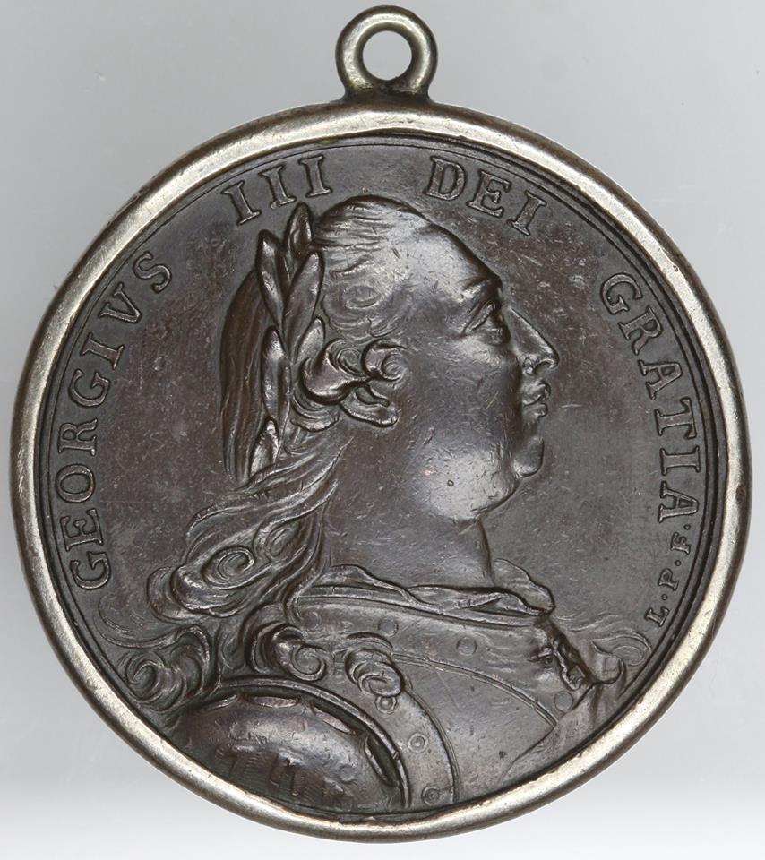 1785 John Adams Ambassadors Medal