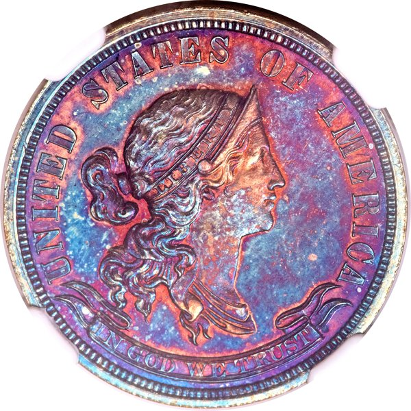 1870 Pattern Quarter Ex. Simpson