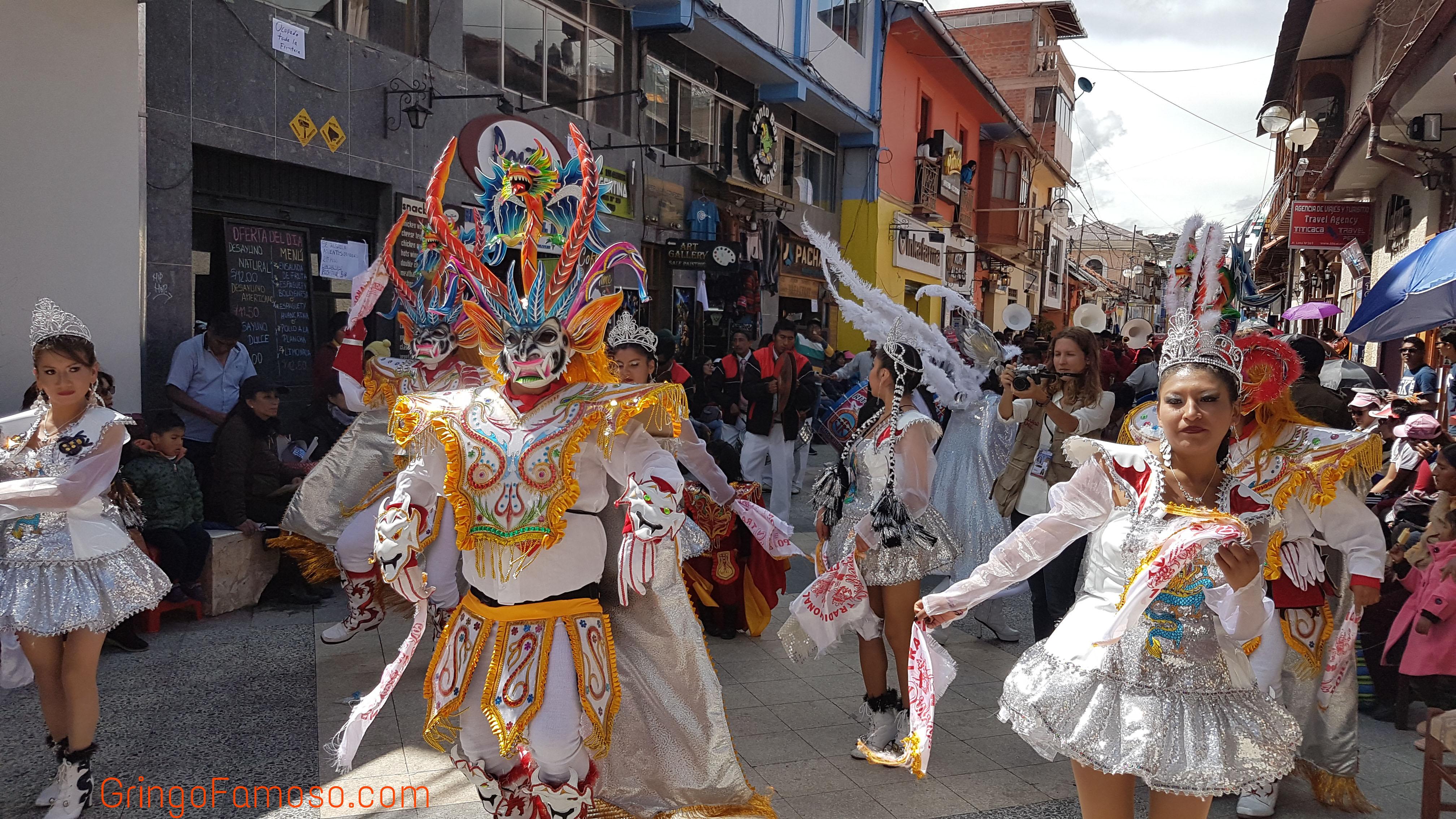 La Festividad de la Virgen de la Candelaria de Puno.