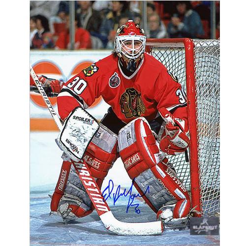 Ed Belfour Signed Photo 8x10 Chicago Blackhawks