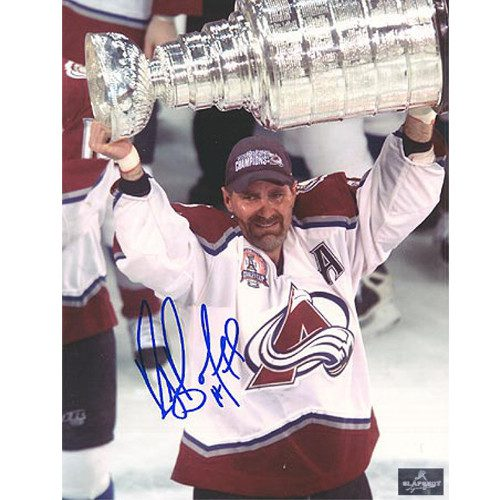 Ray Bourque Colorado Avalanche Signed 8x10 Cup Photo